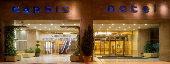 Capsis Hotel Thessaloniki: FRONT ENTRANCE