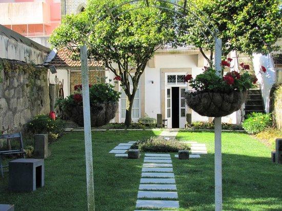 Porta Azul: de tuin in ochtendgloren