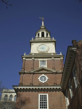 Independence National Historical Park : The tower on a earlier visit