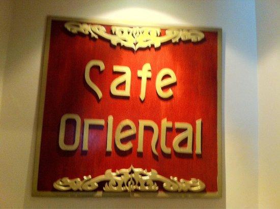 Sabah Oriental Hotel: The main restaurant