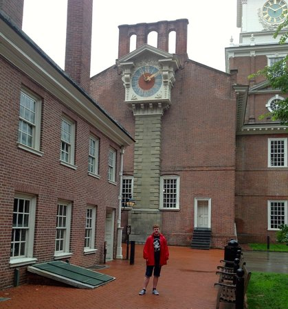 Independence National Historical Park: The entrance to the Great Essentials exhibition