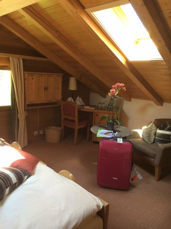 Romantik Hotel Hornberg: Attic room 36