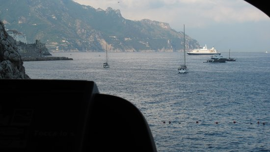 Santa Caterina Hotel : enjoying the cardio with a view