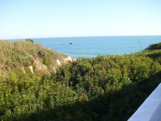Villas Flamenco Beach : Vistas desde el jardín.
