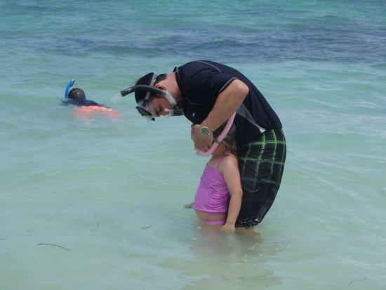 Barcelo Bavaro Palace: Next Time We Do Kate's Snorkel Mask 1st So Boys Dont Start Without Us.