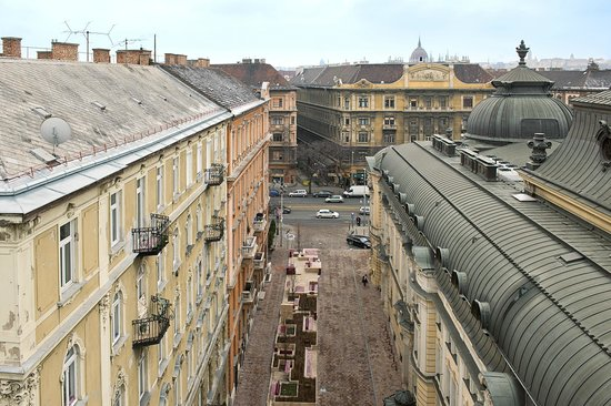 NH Budapest City: View