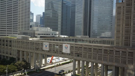 Hyatt Regency Tokyo: view