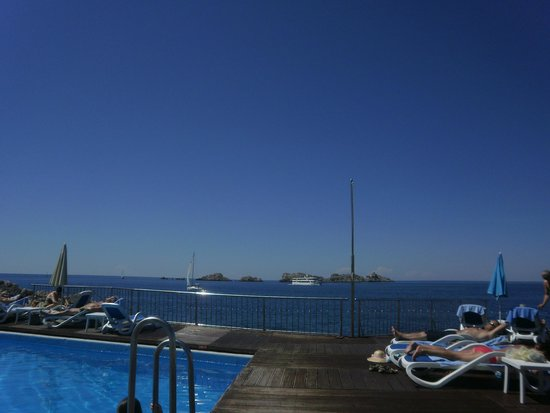 Neptun Hotel: sicht vom pool