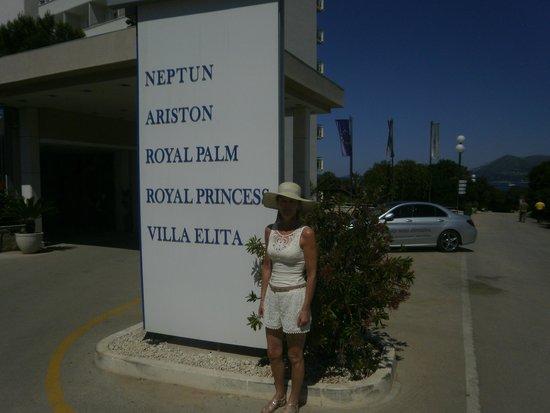 Neptun Hotel: liste der ressort hotel auf halbinsel lapad