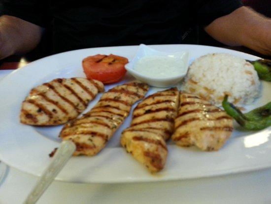 Mey Restaurant: grilled chicken