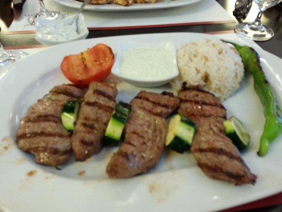 Mey Restaurant: grilled lamb