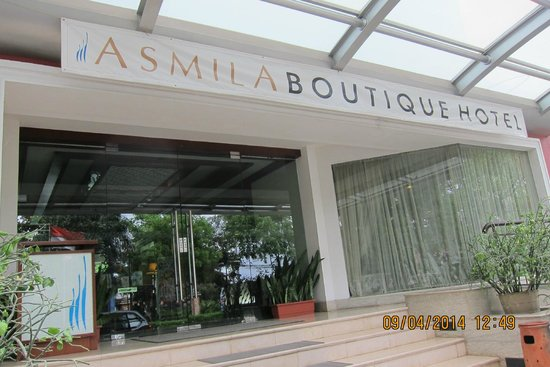 Asmila Boutique Hotel : Hotel Entrance
