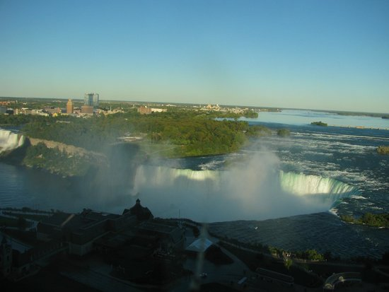 Niagara Falls Marriott Fallsview Hotel & Spa : 部屋からの眺め