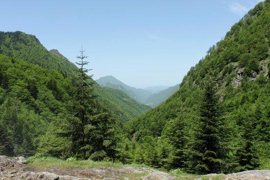 Cascade d'Ars: Vue sur la vallée