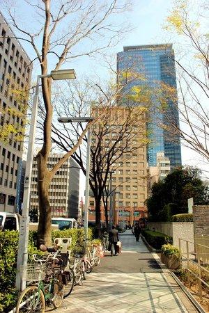 Hilton Tokyo: Outdoor Surroundings