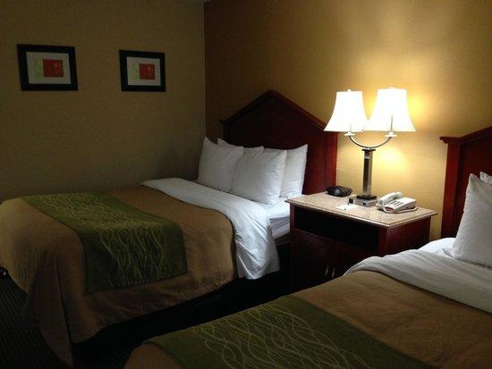 Comfort Inn: Double Beds