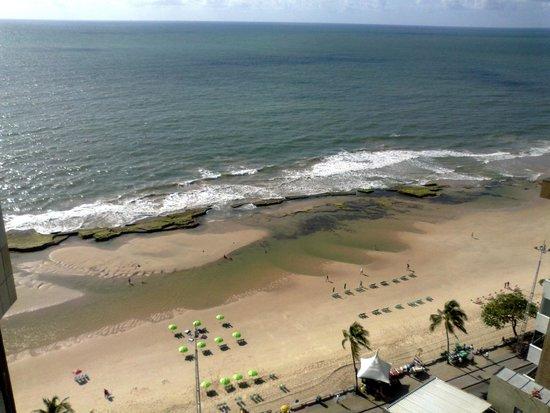 Golden Tulip Recife Boa Viagem : Belíssima vista da praia