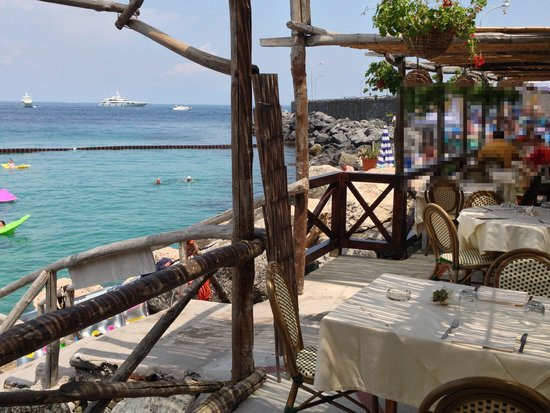 Lo Smeraldo : great view from our table