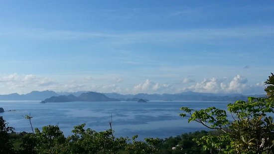 Club Paradise Palawan: View of neighboring islands