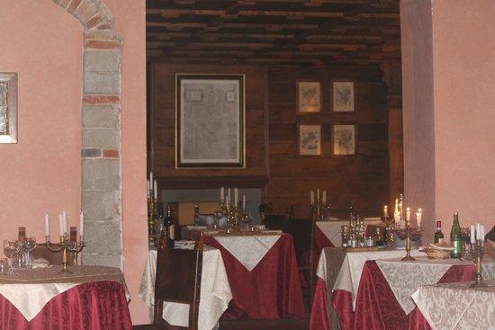 Castello di Petroia : Il ristorante