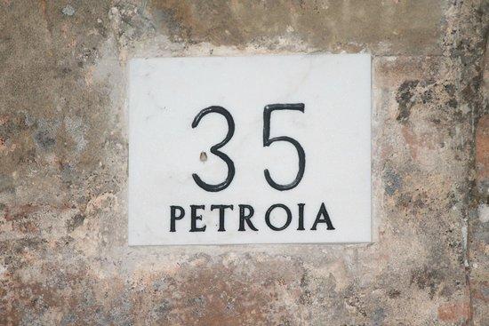 Castello di Petroia : Un particolare