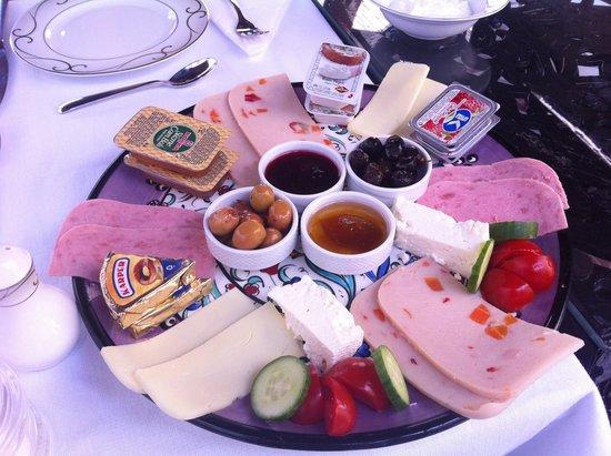 Villa Hagia Sophia: Part of the breakfast