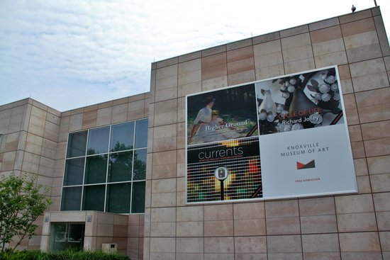 Knoxville Museum of Art: East view of Museum Building