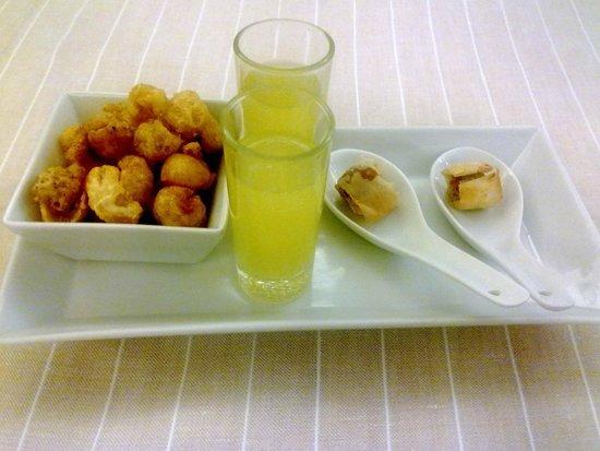 Solana Restaurante: Aperitivos