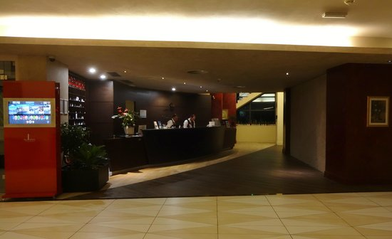 Grand Hotel Park: Reception