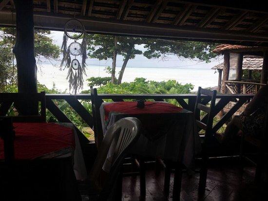 Pousada Hanalei : Vista do café da manhã. ...