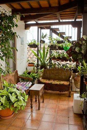 La Villa Serena: terrace on second level