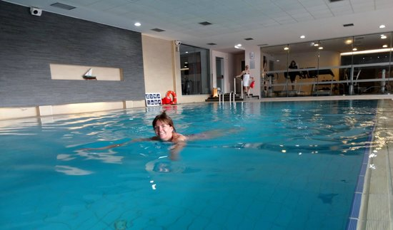 Grand Hotel Park : Indoor pool