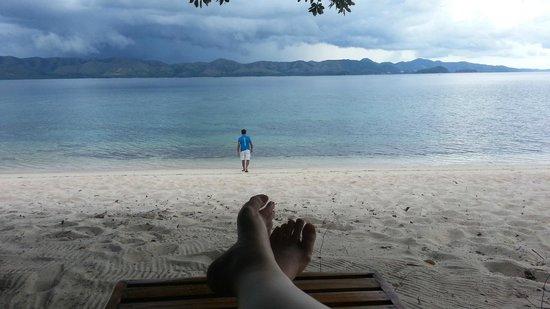 Club Paradise Palawan : Beach