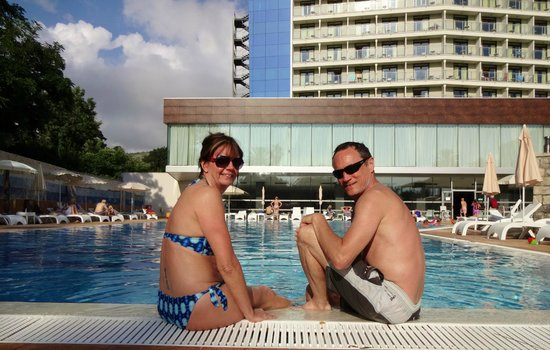 Grand Hotel Park: Pool