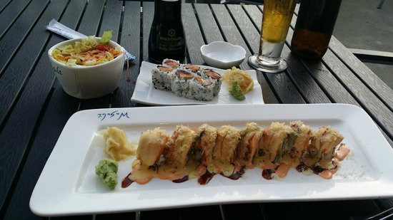 Wasabi Japanese Steakhouse: One of their dishes