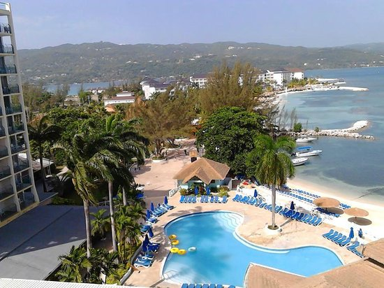Sunset Beach Resort, Spa & Water Park : Great view from room -  7th floor A block
