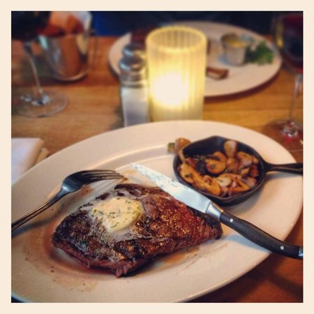 The Butchershop Bar and Grill : Scotch beef at The Butchershop
