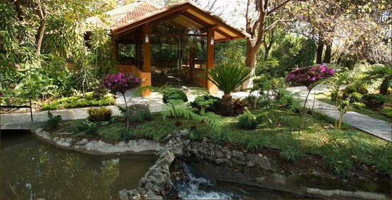 Hotel Spa Ixtapan: Zen Gazebo for Yoga