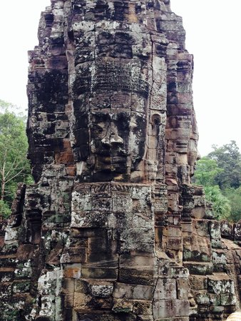 Bayon (Angkor) : 顔〜