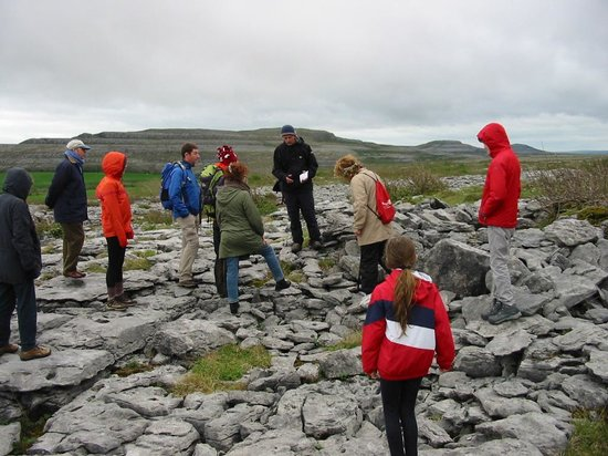 Heart of Burren Walks: We gather with Tony