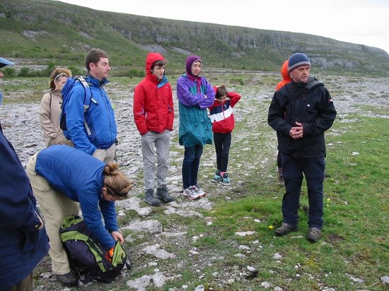 Heart of Burren Walks: Tony explains where we're headed
