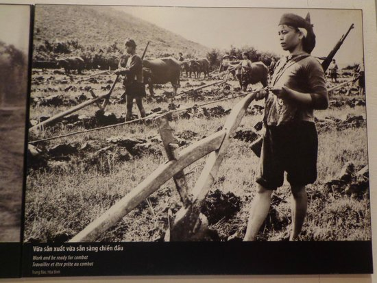 Vietnamese Women's Museum: Women during the war