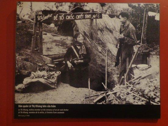 Musée des femmes du Viêt Nam : Women in war