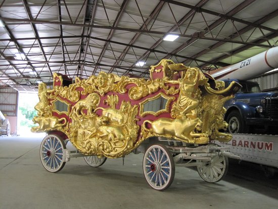 Circus World: Historic circus wagons on Display