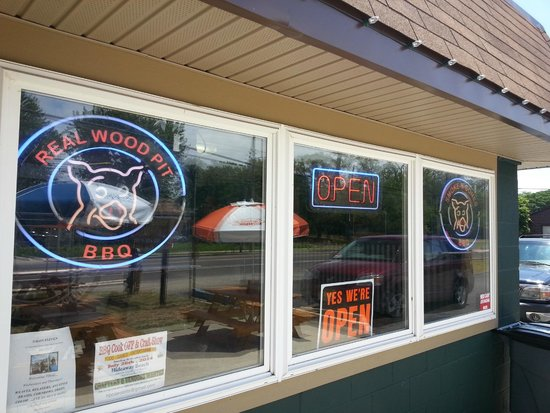 The BBQ LLC : Front Window