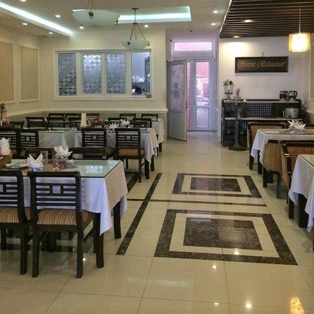 Hue Serene Palace Hotel: Restaurant de l'hotel