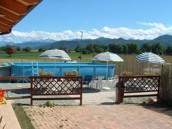 Locanda Dl'Angel : piscina dehor