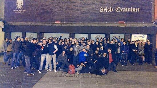 Cork City Pub Crawl: Group Shot
