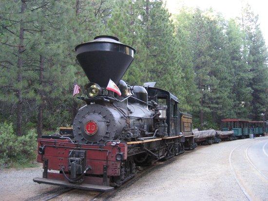 Yosemite Mountain Sugar Pine Railroad: Sugar Pine Steam Train
