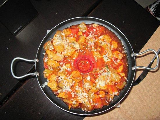 Selam Restaurant : Anatolian Pan, een super lekker hoofdgerecht.